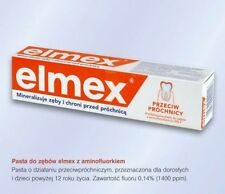 Elmex Toothpaste 75ml, prevents tooth decay, mineralises teeth