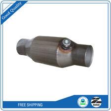 High Flow 25 Inletoutlet Catalytic Converter Universal Epa Obdii Witho2 Sensor
