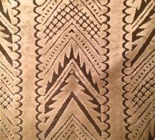 DESIGNERS GUILD William Yeoward Tippolo Velvet Cream Brown Remnant New