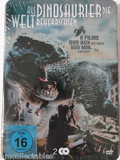 DVD STEELBOOK - COMME DINOSAURE Die Welt Beherrschten - 8 films - NEUF/emballé