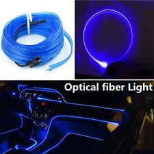 5M LED Fiber Optic Interior Light  Car Door Center Console Ambient Lamp Decor
