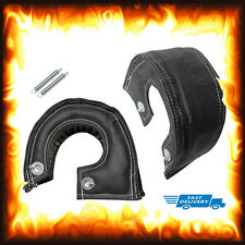 T4 Black Turbo utilisantun Bag Heat Shield Garrett Subaru Nissan Skyline Cosworth
