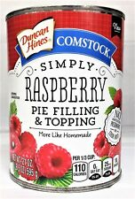 Duncan Hines Comstock Simply Raspberry Pie Filling or Topping 21 oz