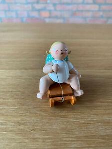 Wendt und Kühn Orchesterengel aus Sammlungsauflösung - Engel auf Schlitten