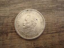 Old Lithuania Lietuva 1938 Silver 10 Litu Smetona Coin Good Condition  Nr 8859
