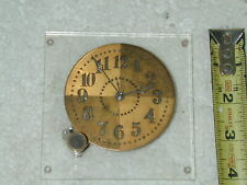 Vintage Waltham Watch Co. 8 Days Civil Date Military Aircraft Clock US Navy