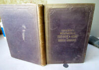 HISTORICAL TEXT BOOK & ATLAS Of BIBLICAL GEOGRAPHY,1854,Lyman Coleman,1st Ed