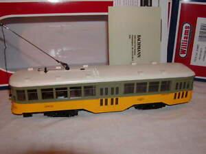 Williams Bachmann 23905 Los Angeles Railway Transit Peter Witt Streetcar New