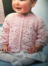 94f19697ff22 Children s Clothing Crocheting   Knitting Patterns Baby 4 Ply