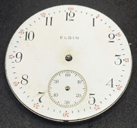 Elgin Pocket Watch Movement 16s Openface 7j Model 7 Grade 291 Parts Repair F5499