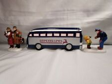 Department 56 - Snow Village - A Ride On The Reindeer Lines - 3pc Set - in Box
