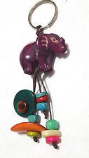 NEW Tagua Nut Handcarved Keychain >Elephant<