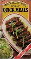 Quick Meals by Margaret Fulton FREE AUS POST good used condition hardback