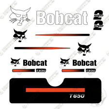 Bobcat T650 Compact Track Loader Decal Kit Skid Steer Early 2000's Style