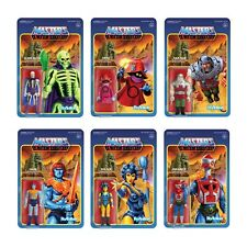 Masters of the Universe ReAction Figures 3.75in. Wave 4 MOTU COMPLETE