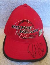 Richie Hearn Road America Autographed Indy 500 Hat-Cap