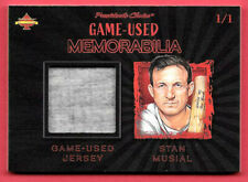 2020 Stan Musial President's Choice Solitaire 1/1 Game Used Jersey - Cardinals