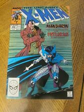 Uncanny X-Men #256 December 1989 1st Psylocke Key Marvel Comics - Direct    ZCO0