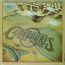 THE COMMODORES 'NATURAL HIGH' US IMPORT LP