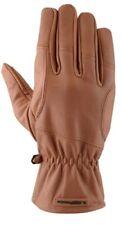 Motorrad Handschuhe Revmoto Leder braun Gr. XL