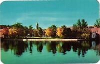 Vintage Postcard - Lake Flower And Riverside Park New York NY #3803