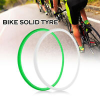 700*23C Road Bike Cycling Bicycle Solid Tyre Fixie Bike Cycling Tire Fixed C4G7