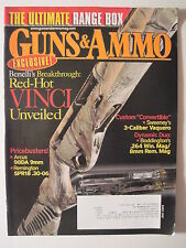 Guns & Ammo Magazine July 2009. Arcus 98DA 9mm/ Remington .30-06/ Beneli Vinci
