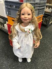 Susan Lippl Vinyl Puppe 92 cm. Top Zustand