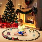 Christmas 2020 Electric Train Set Toy Kids Gift Locomotive Engine Railway Track