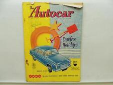 Aug 1957 The Autocar Magazine Anglia De Luxe Ford Jaguar Lucas B90 L9931