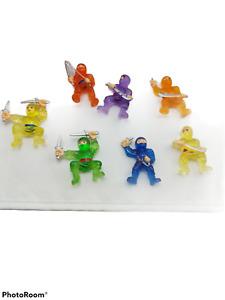 Ninja FIghters Vending Machine Toys Ninjas Birthday Party Favors Lot of 7