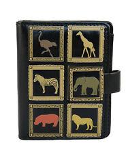 African Wildlife Pattern - Small Zipper Wallet  - Shagwear - New