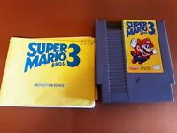 Super Mario Bros. 3 - Nintendo NES Game /w Manual and Sleeve, Authentic & Tested