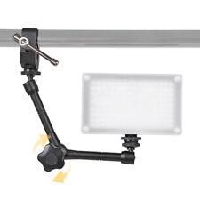 EG_ 11 Inch Articulating Magic Arm Universal Clamp Camera Flash Hotshoe Monitor