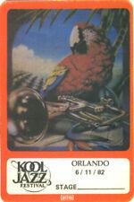 Marshall Tucker Band Kool 1982 Jazz Festival Backstage Pass Doc Watson