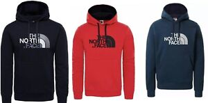 The North Face Hoodie Pullover Jumper Sweatshirt Hooded For Mens In 3 Colours