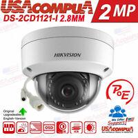 Hikvision 2MP POE DS-2CD1121-I IP Camera 1080P Network camera 2.8mm