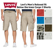 Levis Men'S Relaxed Fit ниже колена шорты карго я