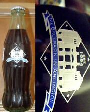 1994 COKE Coca Cola 8oz Full Soda Bottle TEXAS RANGERS The Ballpark at Arlington