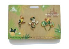 New listing Disney Pins Minnie Mouse The Main Attraction Enchanted Tiki Room Pin Set