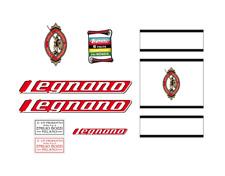 Kit stickers adesivi per bici da corsa vintage LEGNANO - Legnano bici