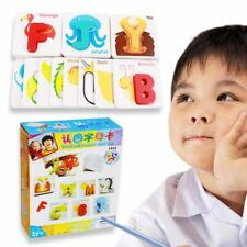 Children & Kids Interactive Alphabet Learning Educational Card Set