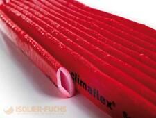 Schutzschlauch PE 10m rot Isolierschlauch für Kaltwasserleitung 4mm Dämmung