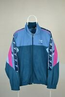 Mens 90s Vintage DIADORA Spell Out Jacket Tracksuit Track Retro Size 54