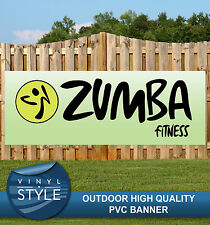 ZUMBA FITNESS CLASSES PVC BANNER PROMOTIONAL VARIOUS SIZES
