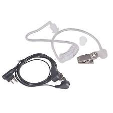 Covert Air Tube Headset For Motorola CP040 GP88 GP300 Walkie Talkie Security