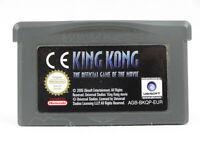 King Kong Nintendo Game Boy Advance Cartridge Only