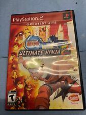 Naruto: Ultimate Ninja 2 (Sony PlayStation 2, 2007) - PS2