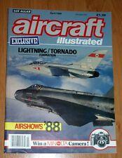 Aircraft Illustrated 1988 April Phantom,Wardair,Swiss Air Force,Netherlines