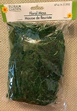 FLORAL MOSS for Artificial Arrangements - 67 Cu. In.- NEW!!!  - FREE SHIPPING!!!